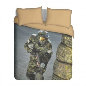 Paintball Duvet Cover Set