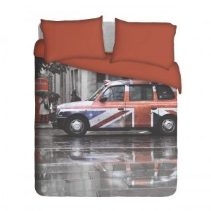 London Taxi Duvet Cover Set
