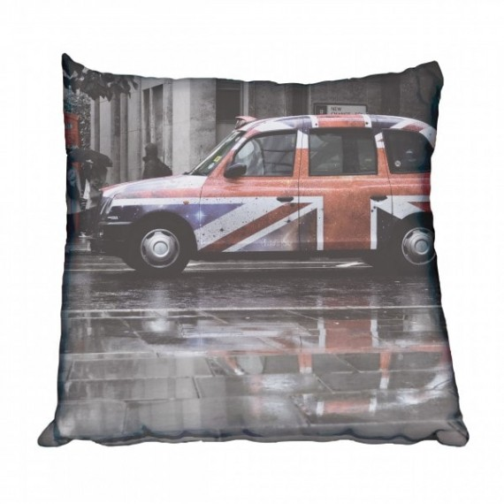 London Taxi Scatter Cushion