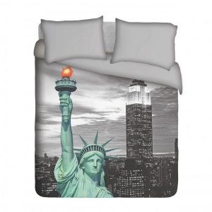 Statue of Liberty Duvet Cover Set