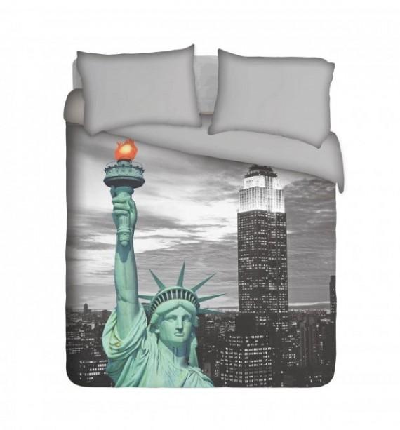 Statue of Liberty Duvet Cover Set