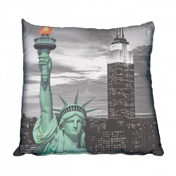 Statue of Liberty, USA Scatter Cushion