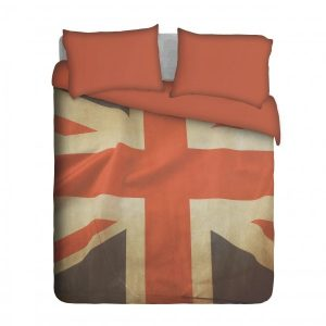 Grunge UK Flag Duvet Cover Set