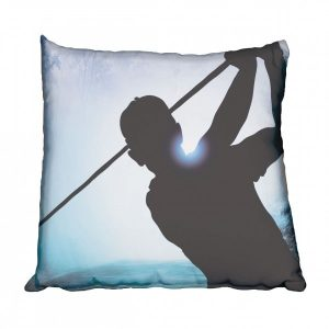 Golfer Swinging Scatter Cushion