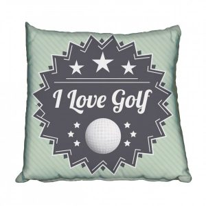 I Love Golf Scatter Cushion