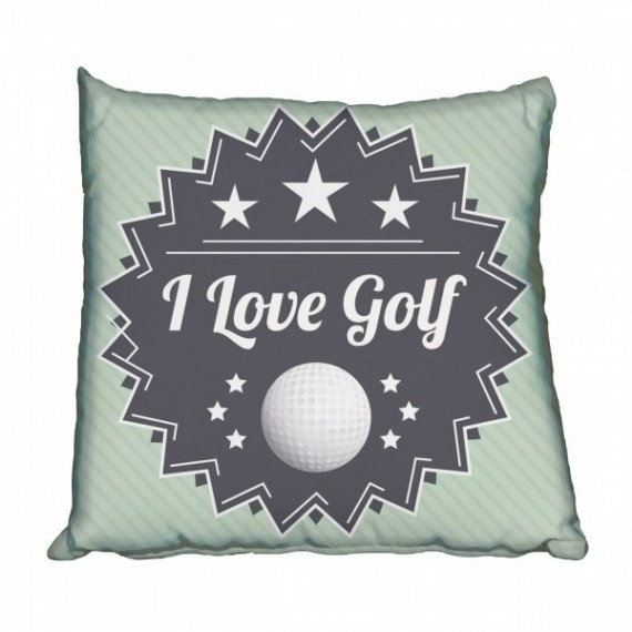 I Love Golf Scatter Cushion