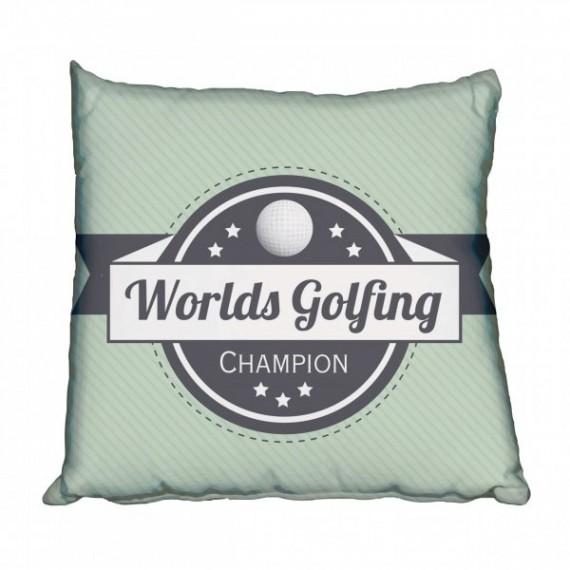 Worlds Greatest Golfer Scatter Cushion