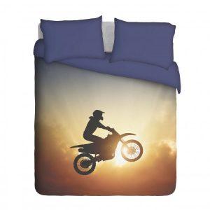 Airborne Motocross Biker Duvet Cover Set