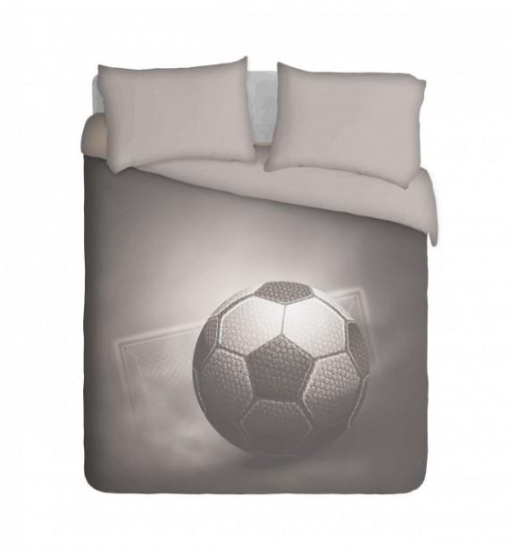 Soccer Ball and Goal Duvet Cover Set