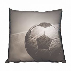 Soccer Ball and Goals Scatter Cushion