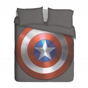Captain America Shield Duvet Cover Set