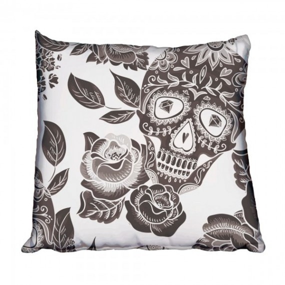 Sweet Sugar Skull Scatter Cushion