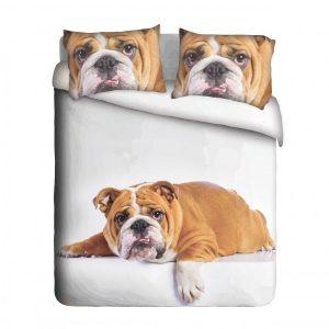 Lazy Big Bulldog Duvet Cover