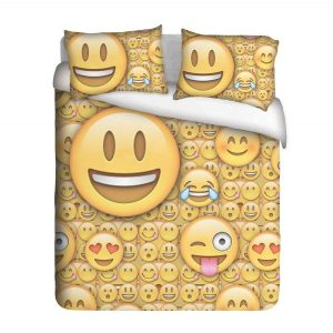 Lol Emoji Duvet Cover Set
