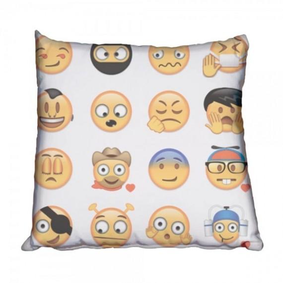 A little crazy Emoji Scatter Cushion