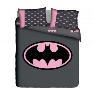 Girlie Batman Duvet Cover Set