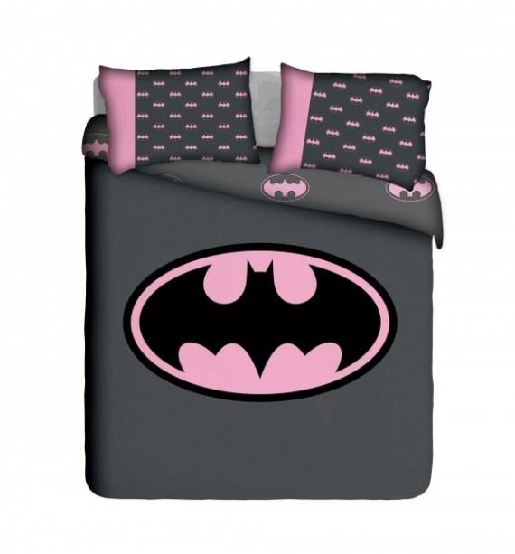 Girlie Batman Duvet Cover Set