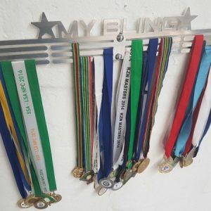 XL My Bling Medal Hanger