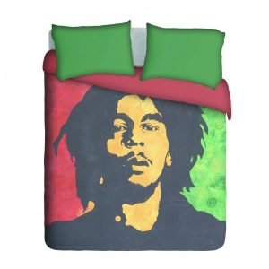 Bob Marley Duvet Cover Set