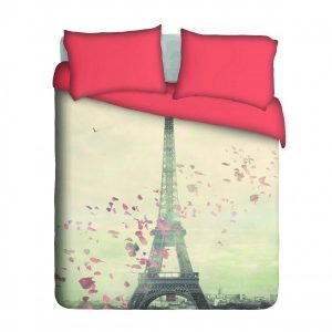 Romantic Paris Duvet Cover Set