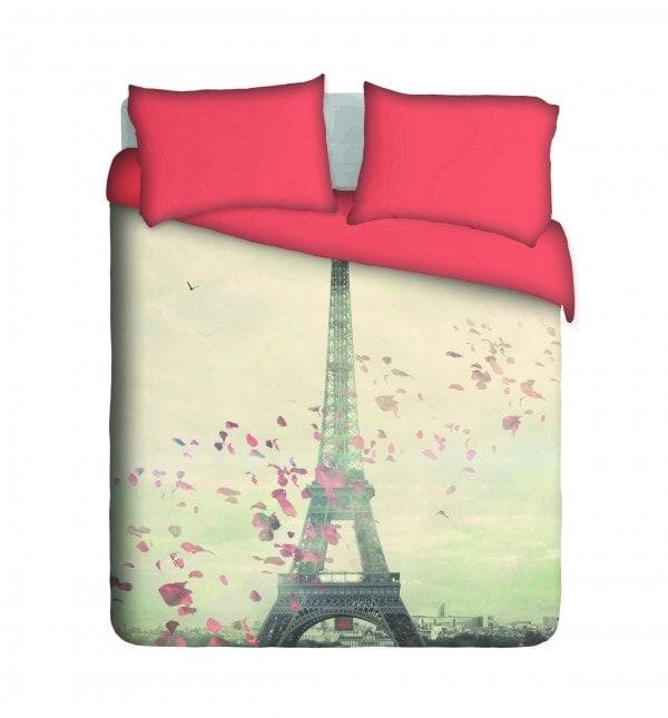 Romantic Paris Duvet Cover Set, Eiffel Tower Bedding South Africa