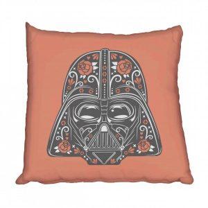 Skull vader scatter cushion
