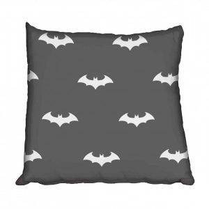 Batman Bats Dark Tones Scatter cushion