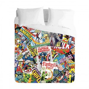 Comic Books Duvet Cover Set