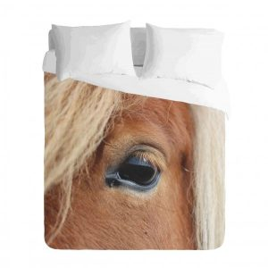 Horse Eye Duvet Cover Set