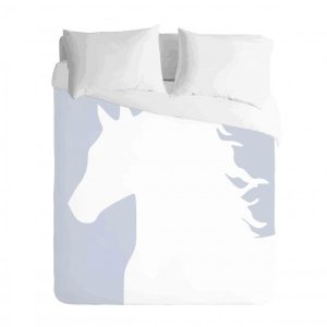 Horse Profile Duvet Cover Set
