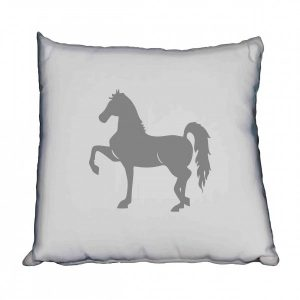 Saddlebred Grey Silhouette Horse Scatter