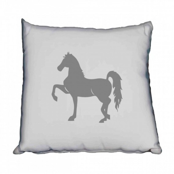 Saddlebred Grey Silhouette Horse Scatter