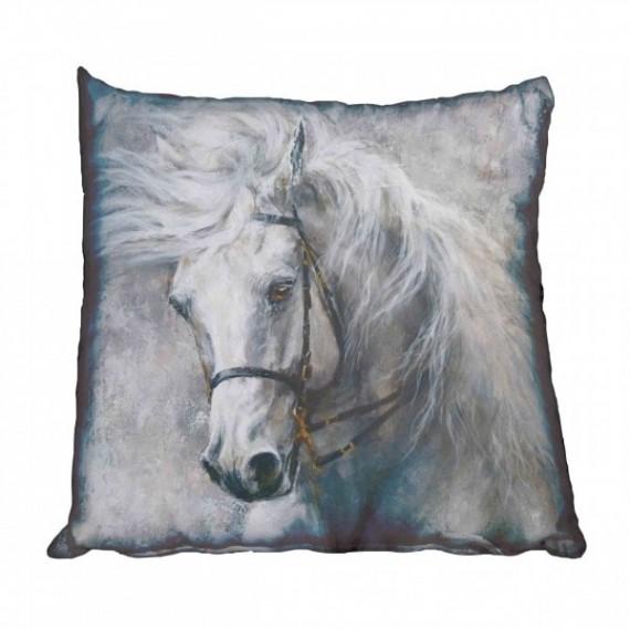 Saddlebred White Horse Scatter