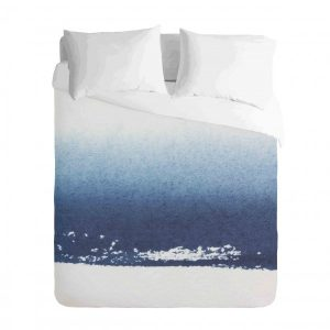 Ombre Blue watercolour Duvet