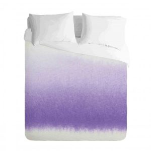 Ombre Purple watercolour Duvet