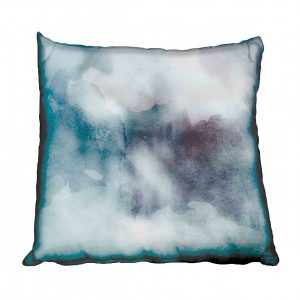 Ombre Cloudy Teal and Purple Watercolours Scatter