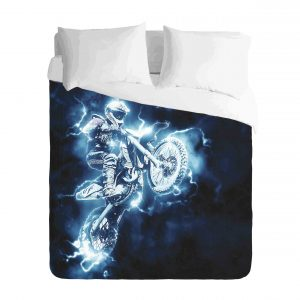Motocross Lightning Duvet-