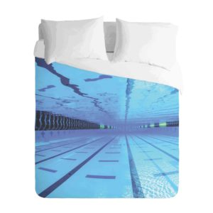 Swimming Pool Duvet Cover Set
