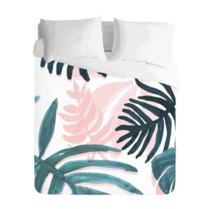 Tropical Bold Leaf Duvet