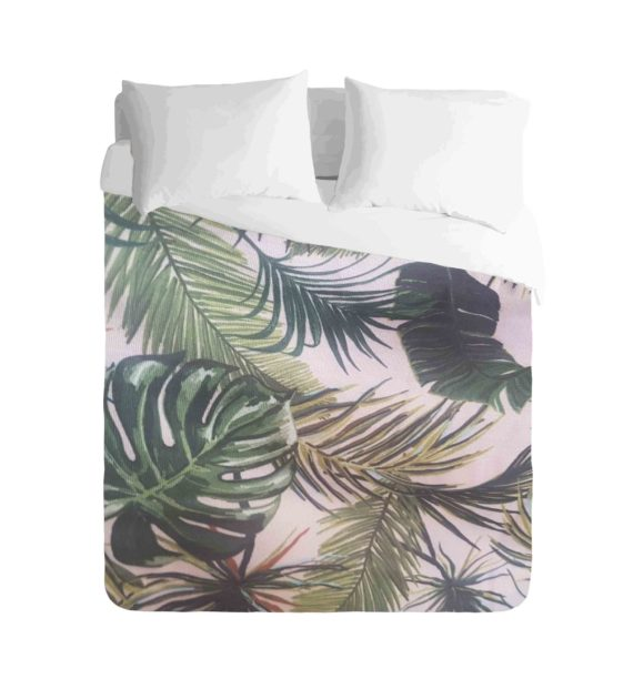 Tropical Leafy Greens Duvet