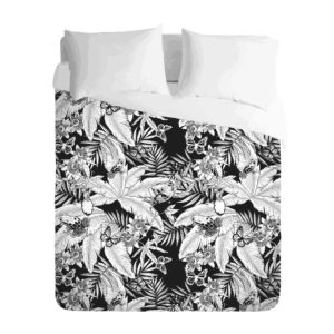 Tropical Mono jungle Duvet