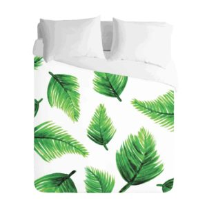 Tropical Palm Leaf Duvet
