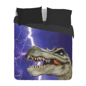 Dinosaur Spinosaurus and Lightning Duvet