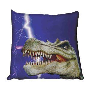 dinosaur Spinosaurus and lightning Scatter