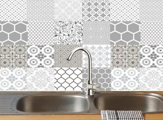 Gorgeous Grey Decorative DIY tiles 1