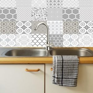 Gorgeous Grey Decorative DIY tiles 2