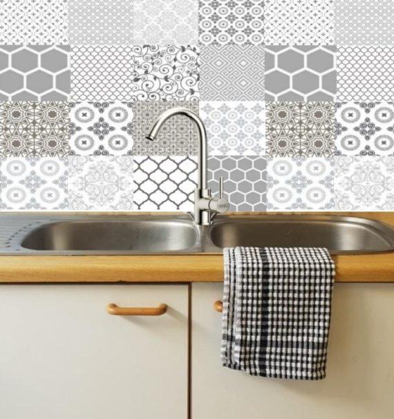 Gorgeous Grey Decorative DIY tiles 2