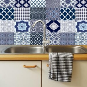 NAVY DIY decoratiive tiles Lifestyle pic