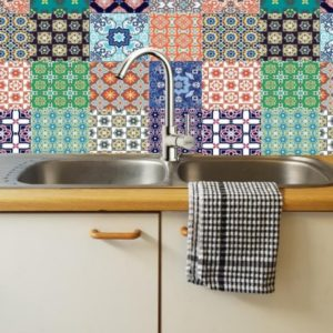 brilliant brights DIY decorative tiles 2