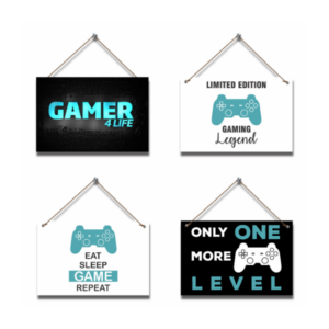 Gaming Legend Gaming Hanging Pictures (4 piece)